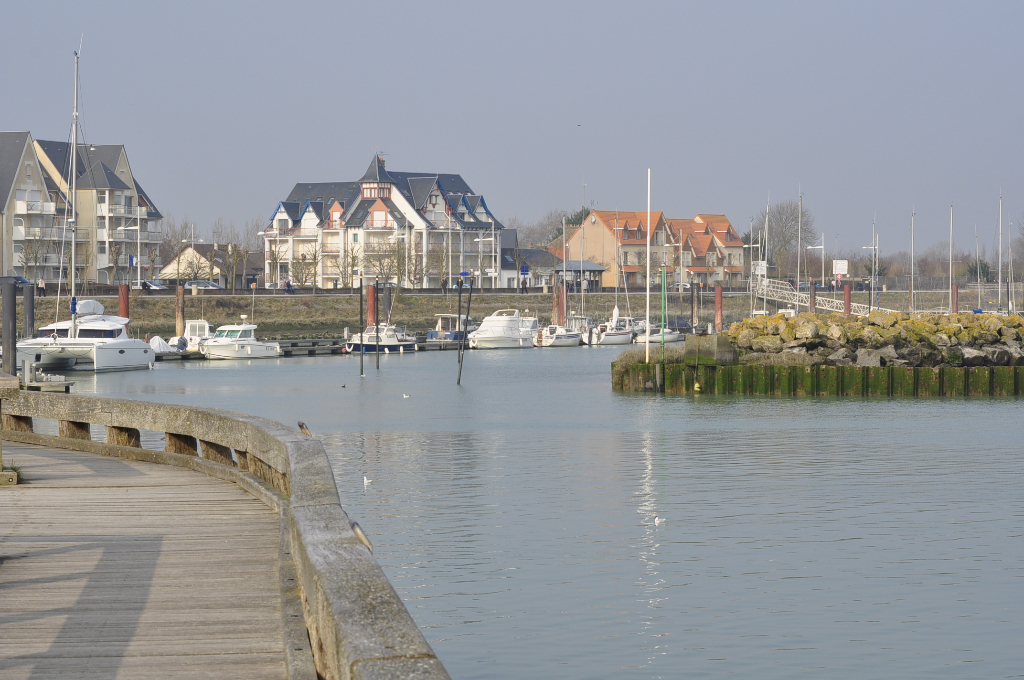 le Crotoy, port de plaisance