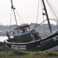 Bateau de pêche au Crotoy